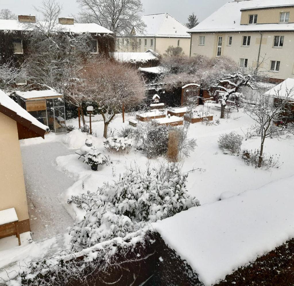 Vom kleinen Glück: Schnee