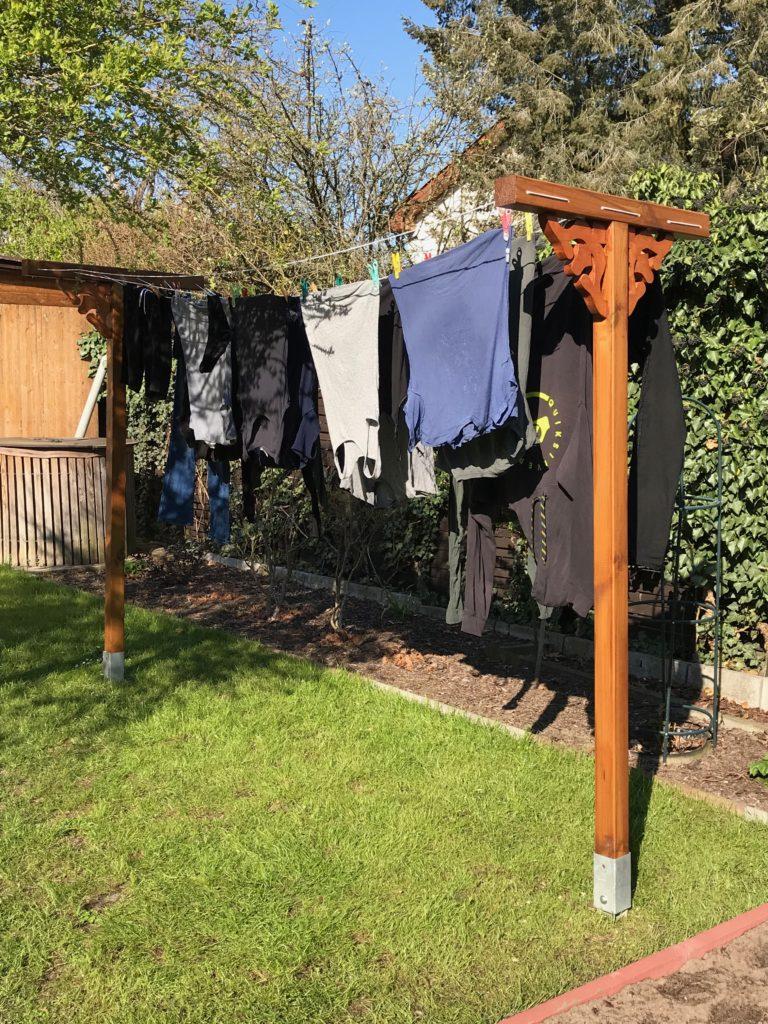 Die Wäscheleine