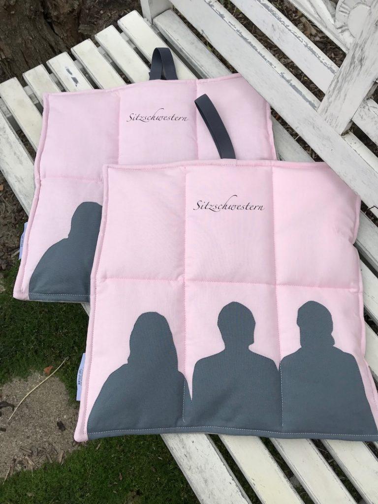 Faltbare Sitzkissen, ein individueller Kundenwunsch