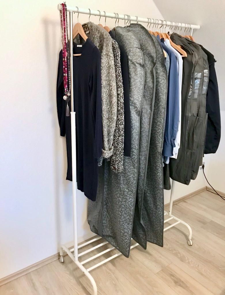 Auf dem Weg zur Capsule Wardrobe