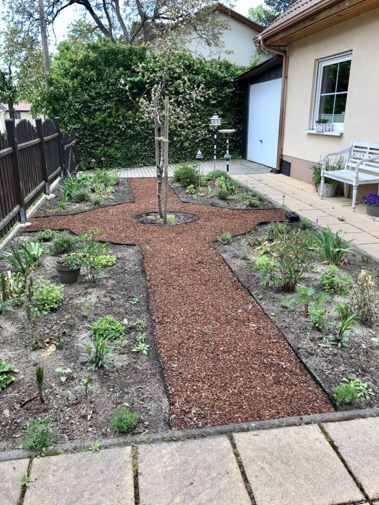 Der neue Vorgarten