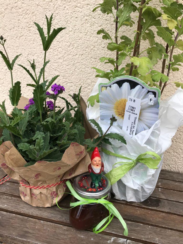 Vom kleinen Glück: Ein Gartenzwerg
